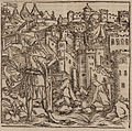 The Sultan conversing with the Grand Master of Rhodes - Johannes Adelphus - 1513.jpg