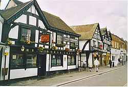 The Three Horseshoes i Leominster.