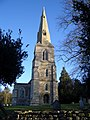 The Tower & Spire of St John's at Achurch - geograph.org.uk - 322810.jpg