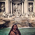 The Trevi Fountain with my lion-mane hair. -eurostudies -thatsamore (10382882706).jpg