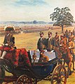 The Triumphal Grand Army Review by Kobayashi Mango (Meiji Memorial Picture Gallery).jpg