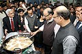The Union Minister for Finance, Corporate Affairs and Information & Broadcasting, Shri Arun Jaitley at the Halwa ceremony to mark the commencement of Budget printing process for General Budget 2016-17, in New Delhi.jpg