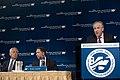 The Washington Institute president Martin Gross introduces Secretary of Defense Chuck Hagel.jpg