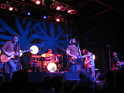 The Weakerthans under en konsert i Toronto 2007