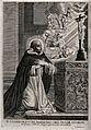 The blessed Gundisalvus. Engraving by G. Hendricks. Wellcome V0032176.jpg