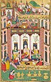 The building for King Dasaratha's sacrifice BY NUR MUHAMMAD, MUGHAL INDIA, 1594 AD.jpg
