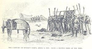 Battle of Sailor's Creek - Ewell's corps is captured