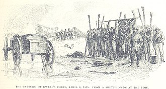 Battle of Sailor's Creek - Ewell's corps is captured