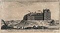 The castle at Saint Maur near Paris. Etching. Wellcome V0050002.jpg