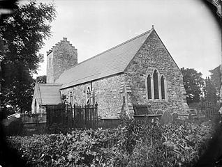 The church, Llannor