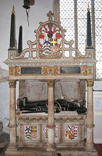 Thomas Lovell - The tomb of Sir Thomas Lovell in the church of Ss Peter and Paul, East Harling