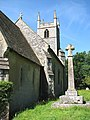 The church of St Remigius - the war memorial - geograph.org.uk - 1351433.jpg