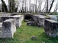 The corridor and vaulted rooms surrounding the cavea of the Roman Theatre, from the time of Hadrian, 2nd c. AD, Ancient Dion (6930222222).jpg