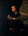 "The dwarf Francisco Lezcano, ""El Niño de Vallecas"". Oil pain Wellcome V0017107.jpg"