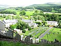 The old part of the village of Rhydymain from the top of the graveyard - geograph.org.uk - 505212.jpg