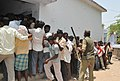 The youth voters standing in a queue for waiting to cast their votes at Jagiyahpet assembly and Vijayawada parliamentary constituency, in Andhra Pradesh during the 2nd Phase of General Election-2009 on April 23, 2009.jpg