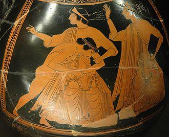 Peleus - Image: Thetis Peleus Louvre G65