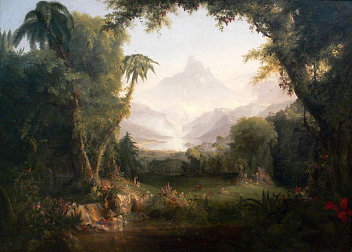 Thomas Cole The Garden of Eden Amon Carter Museum