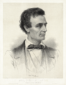 Thomas Hicks - Leopold Grozelier - Presidential Candidate Abraham Lincoln 1860 - cropped to lithographic plate.png