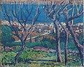 Thomas William Marshall - Rade de Bastia à travers les arbres (1913).jpg