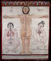 Three anatomical figures from Tibet Wellcome V0036134.jpg