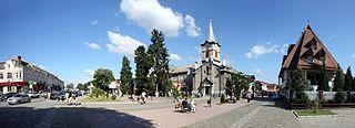 Tiachiv City of district significance in Zakarpattia Oblast, Ukraine