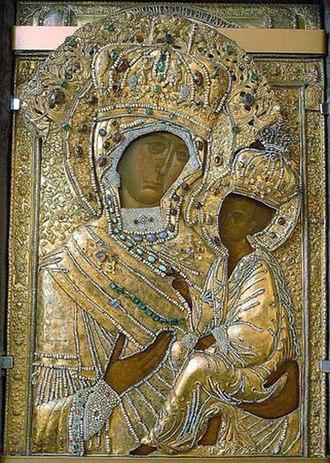 Tikhvin - The Theotokos of Tikhvin icon