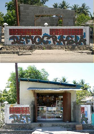 Progress (history) - Progress in East Timor