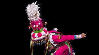 Tinku Baile originario de Bolivia