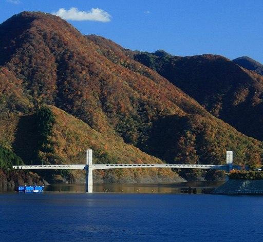 Tokuyama Dam lake around R417 2