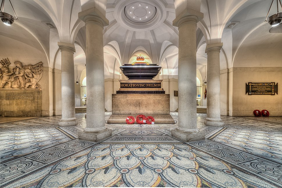 Tomb of Horatio Nelson on Saint-Paul Cathedral