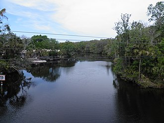 Tomoka River - Tomoka River in Ormond Beach