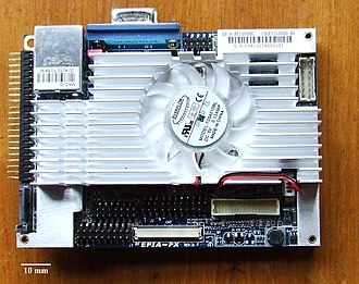 Computer form factor - Image: Top EPIA PX10000G Motherboard new
