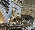 Top pulpit Peterskirche Vienna.jpg