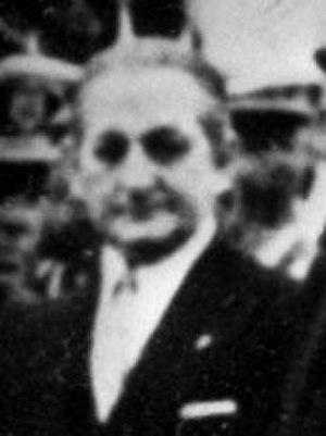 Cortes Españolas - Image: Torcuato Fernández Miranda in 1975