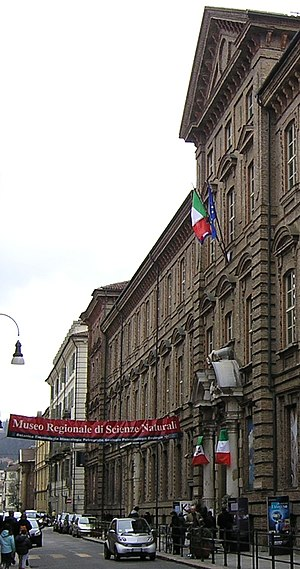 Turin Museum of Natural History - Entrance of the MRSN