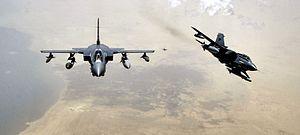 Panavia Aircraft GmbH - RAF Panavia Tornados over Iraq.