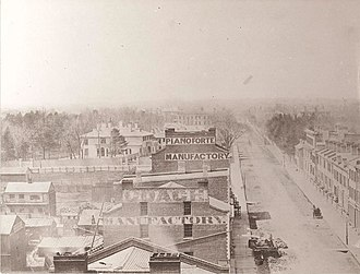 Armstrong, Beere and Hime panorama - Image: Toronto 1856 1