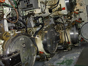 Torpedo launch tubes of the U-Boot.JPG