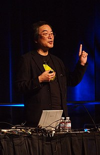 Toru Iwatani, creator of Pac-Man, at GDC 2011.jpg