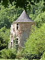 Tour isolée du château de Saint-Julien d'Empare.JPG