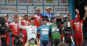 2014 Tour of Turkey - Image: Tourof Turkey Winners