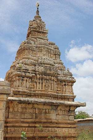 Ranganathaswamy Temple, Nirthadi - Ranganatha Swamy temple (1698 AD) Chitradurga district