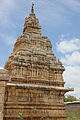 Tower over shrine at Ranganatha Swamy temple in Neerthadi.JPG