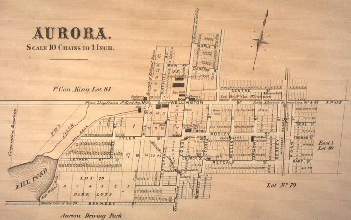 Town of Aurora, 1878