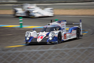 Toyota TS040 Hybrid - The No. 2 TS040 at the 2015 24 Hours of Le Mans