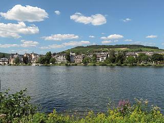 Traben-Trarbach Place in Rhineland-Palatinate, Germany