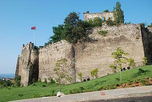 Walls of Trabzon - The citadel