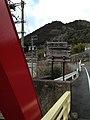 Traffic sign near Kamiasohashi Bridge.jpg