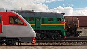 Trains in Siauliai